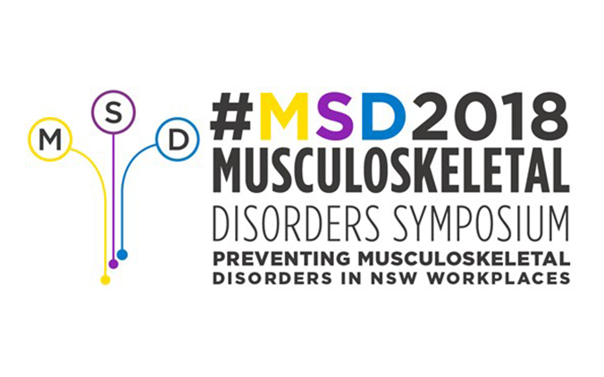 Musculoskeletal Disorders Symposium 2018