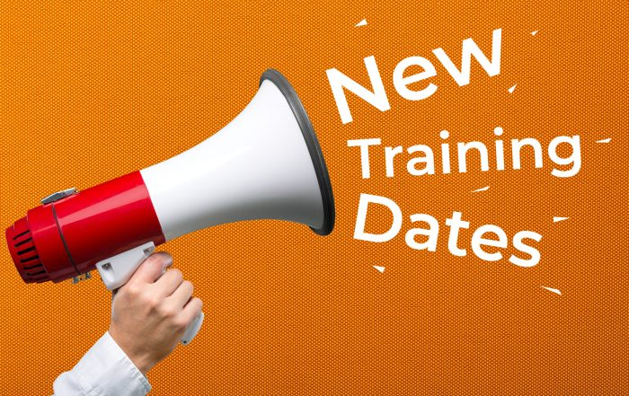 New Training Dates Added
